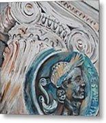Financial Cliff Metal Print by PainterArtist FIN