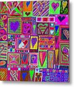find U'r love found v5 Metal Print