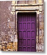 Finding Purple Balance Metal Print