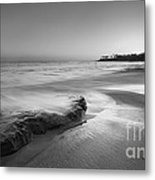 Finding Serenity Bw Metal Print by Michael Ver Sprill
