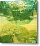 Finding Your Clover Metal Print