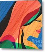 Finding Yourself Metal Print by Hilda Lechuga