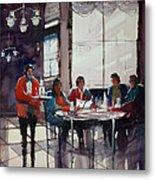 Fine Dining Metal Print by Ryan Radke