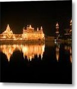 Fine Reflection In Water Metal Print