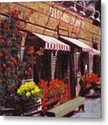 Fine Wine For Launch Italian Restraunt Bistro Jeanty Metal Print