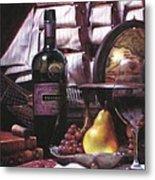 Fine Wine For New Voyage Metal Print