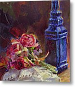 Finer Things Still Life By Karen Whitworth Metal Print