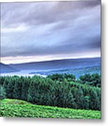 Finger Lakes Landscape Metal Print