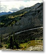 Finger Of Nisqualy Metal Print
