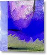 Finger Painting By The Hand Of God 2 Metal Print