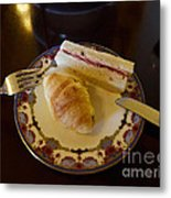 Finger Sandwiches For Traditional Afternoon Tea Metal Print