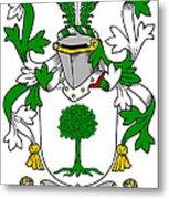 Finnerty Coat Of Arms Irish Metal Print