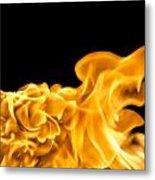 Fire 016 Metal Print