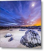 Fire And Ice Shinnecock Inlet Metal Print