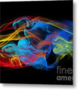 Fire And Ice Smoke  Metal Print