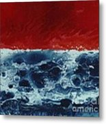 Fire And Water Metal Print by David Neace