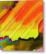 Fire And Water II Metal Print
