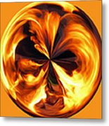 Fire Ball Metal Print