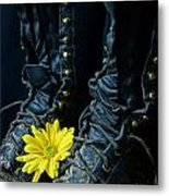 Fire Boots Hdr Metal Print