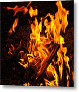 Fire Dance Metal Print by BandC  Photography