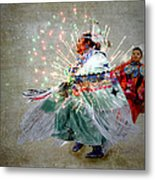 fire Dance Metal Print by Irma BACKELANT GALLERIES