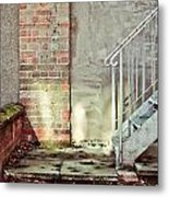 Fire Escape Stairs Metal Print