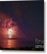 Fire From The Skies Metal Print