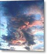 Fire In The Sky - 1 Metal Print