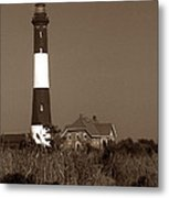 Fire Island Lighthouse Metal Print by Skip Willits