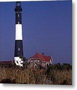 Fire Island Ny Lighthouse Metal Print
