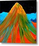 Fire Mountain 2 Metal Print