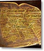 Fire Of God Metal Print