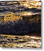 Fire On The Water Metal Print
