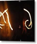 Fire Signs Metal Print