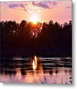 Fire Water Metal Print