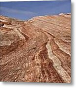 Fire Wave - Valley Of Fire Metal Print