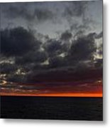 Fireball Sunrise Metal Print