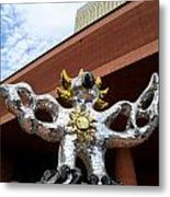 Firebird And Sky Metal Print by Randall Weidner