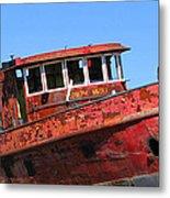 Fireboat Metal Print