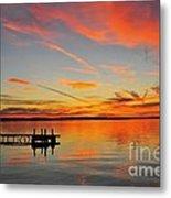 Firecracker Sunset Metal Print