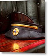 Firefighter - Hat - The Ex Chiefs Hat Metal Print by Mike Savad