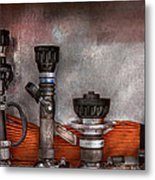 Firefighting - One For Everyone Metal Print by Mike Savad