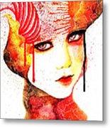 Fireflower Metal Print