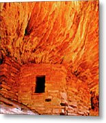 Firehouse Ruins Metal Print