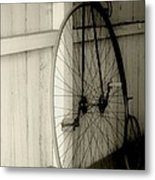 Firehouse Velocipede Metal Print