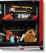 Fireman - Fire Fighting Supplies Metal Print