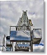Fireman - Fire Ladder Metal Print