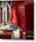 Fireman Hook And Ladder Metal Print