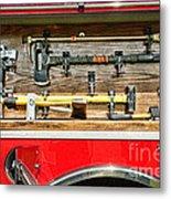 Fireman - Life Saving Tools Metal Print