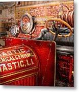 Fireman - Mastic Chemical Co Metal Print